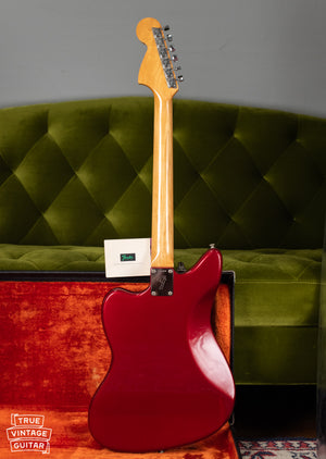 Vintage 1966 Fender Jaguar Red