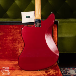 Candy Apple Red Metallic Fender Jaguar 1966