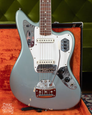 1966 Fender Jaguar Blue Ice Metallic finish
