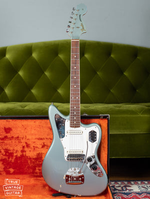 1966 Fender Jaguar custom color Blue Ice Metallic