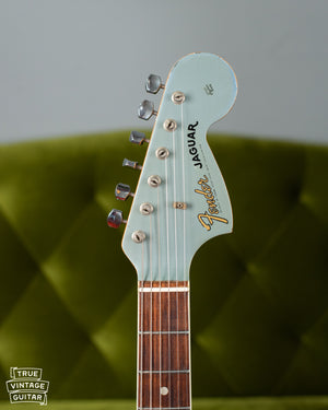 Fender Jaguar Matching Headstock Ice Blue Metallic