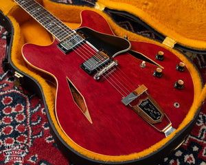 Gibson electric guitar red