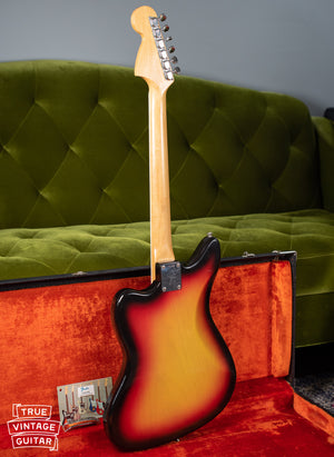 back of body, Vintage 1966 Fender Jaguar Sunburst