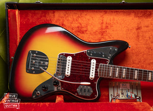 Vintage 1966 Fender Jaguar Sunburst in original case