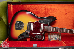 1966 Fender Jaguar Sunburst with tag