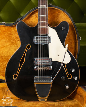 1967 Fender Coronado II Black guitar