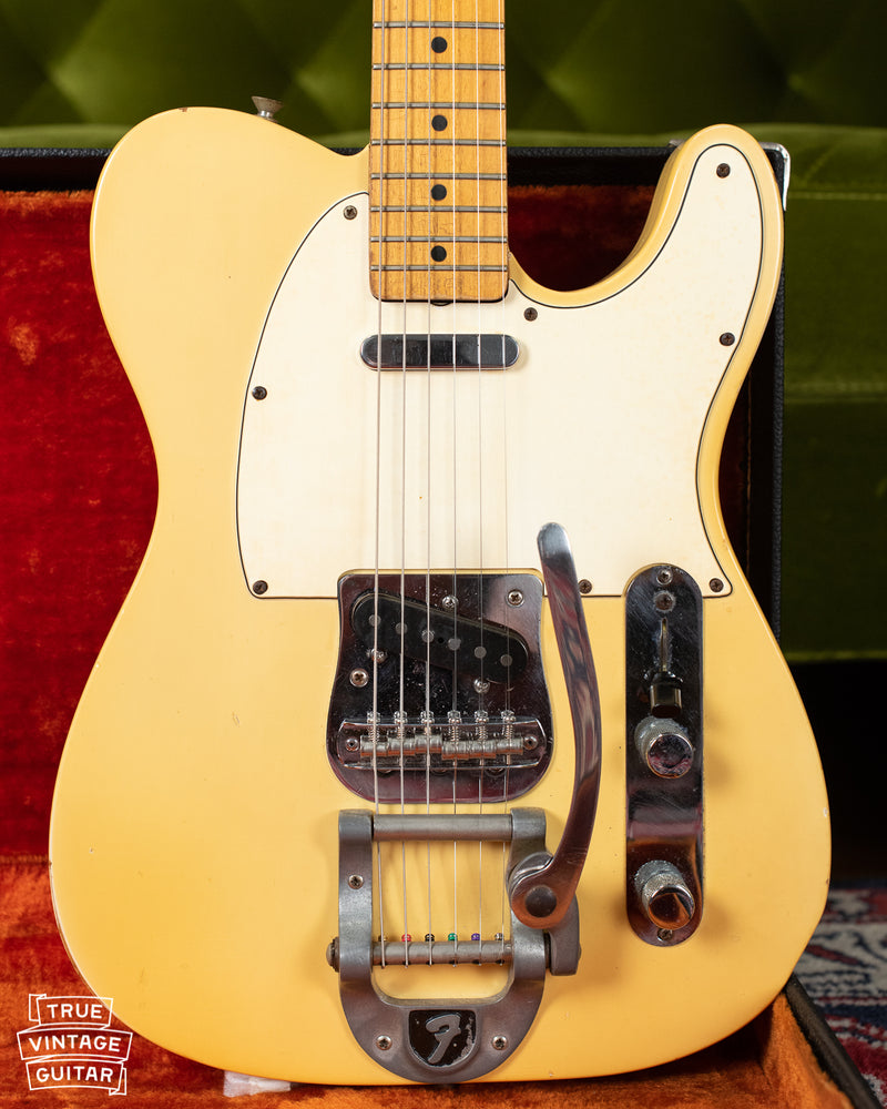 1967 Fender Telecaster, Maple cap, Blond, Bigsby