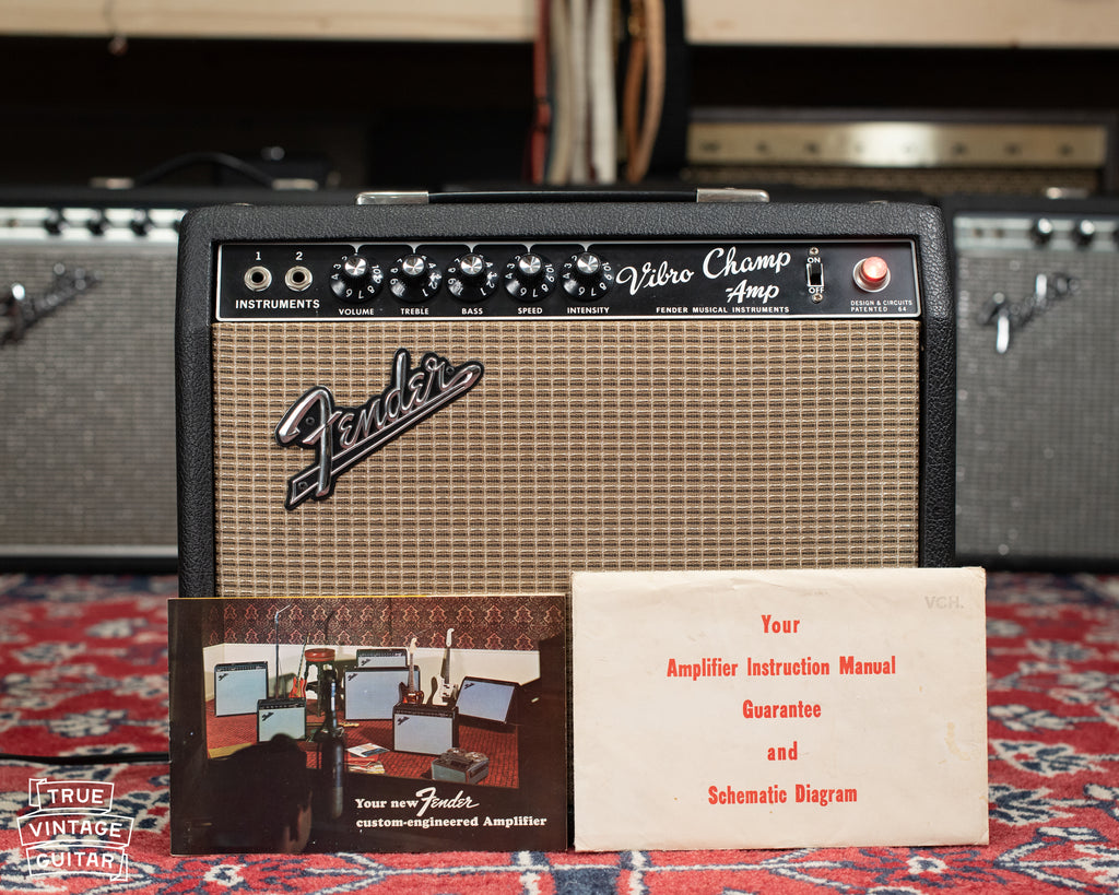 1967 Fender Vibro Champ guitar amp