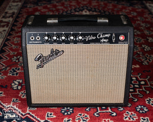 Vintage 1967 Fender Vibro Champ guitar amplifier