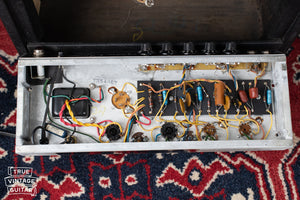 Chassis, circuit, vintage 1967 Fender Vibro Champ amplifier