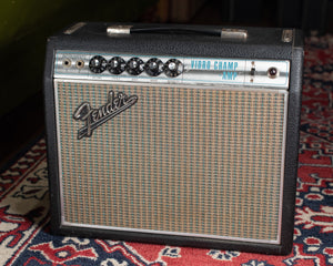 1969 Fender Vibro Champ~Amp Drip Edge Black Line