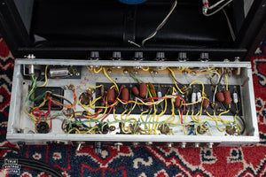 Chassis, circuit board, point to point wiring, 1970 Fender Princeton Reverb