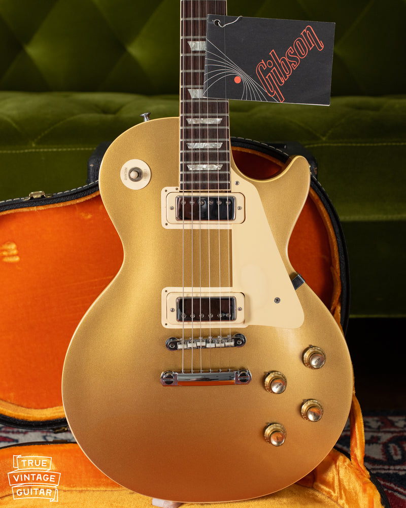 1971 Gibson Les Paul Deluxe goldtop guitar