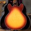 back of body, Vintage 1972 Gibson ES-345 Stereo Sunburst