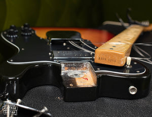 1973 Fender Telecaster neck heel stamp