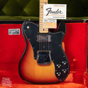 1973 Fender Telecaster Custom Sunburst
