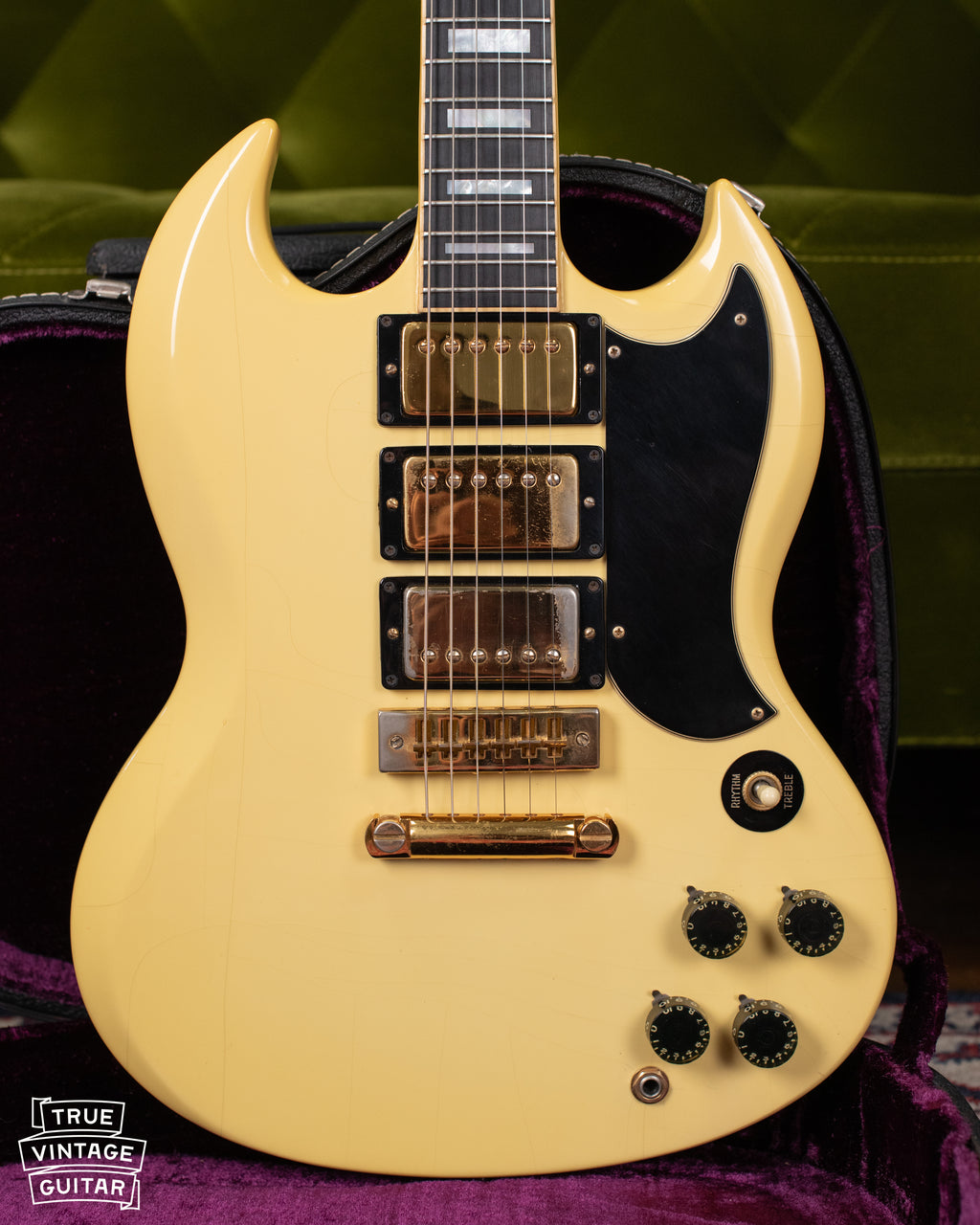 1974 Gibson SG Custom White Guitar