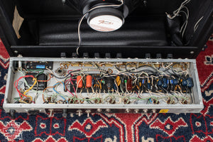 Chassis, circuit board, 1975 Fender Deluxe Reverb