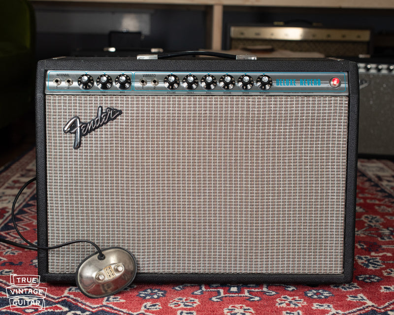 Output transformer, power transformer, 1975 Fender Deluxe Reverb