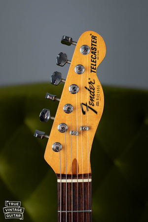 1978 Fender Telecaster headstock neck