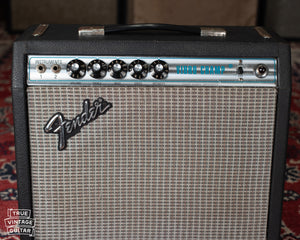 Silverface Fender amp 1970s