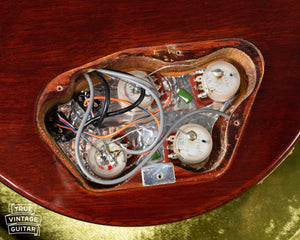 1978 Ibanez Artist control cavity, potentiometers
