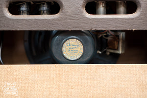 Jensen P12R speaker, Vintage 1957 Gibson GA-20 guitar amplifier