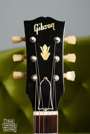 1960 Gibson ES-335TD headstock