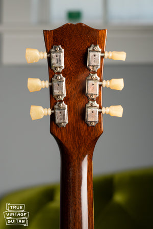 1960 Gibson ES-335TD back of neck kluson tuners