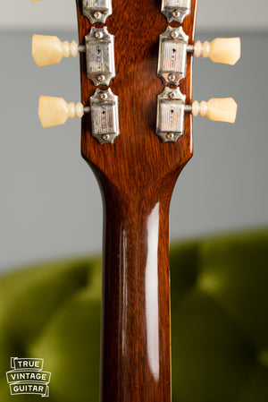 1960 Gibson ES-335TD back of neck