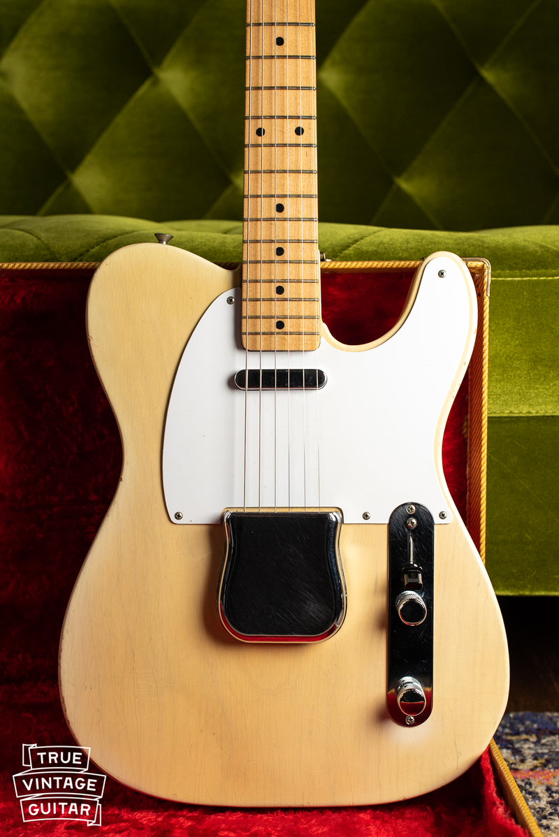 1957 Fender Telecaster Blond body with bridge cover