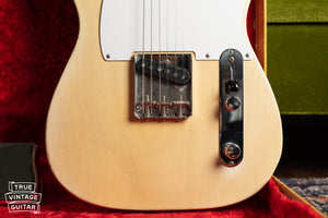 1957 Fender Telecaster Blond bridge plate