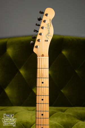 1957 Fender Telecaster Blond neck