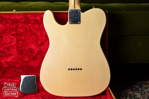 1957 Fender Telecaster Blond back of body