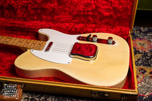 1957 Fender Telecaster Blond in case, red lining