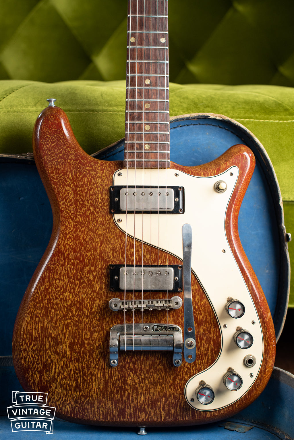 1965 Epiphone Wilshire Red Fox body