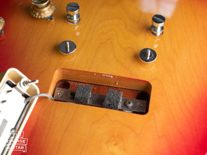 1970 Gibson Les Paul Deluxe, bridge pickup cavity