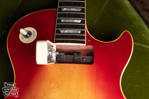 1970 Gibson Les Paul Deluxe, neck pocket, long tenon