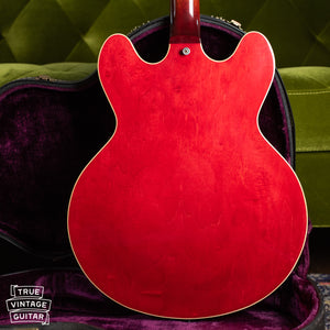 Back of body, 1973 Gibson ES-335 TD Cherry