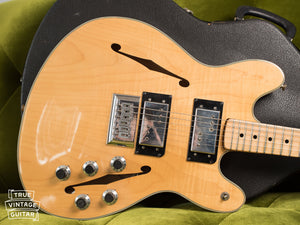 1976 Fender Starcaster Natural body