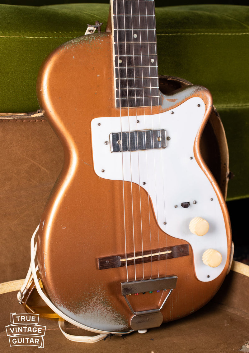 Neck through design, Vintage Harmony H44 Stratotone