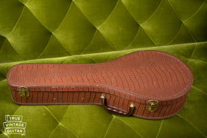 Gibson faux alligator chipboard mandolin case