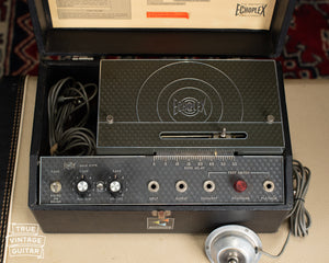 Vintage 1971 Maestro Echoplex EP-3 Black Top Tape Echo