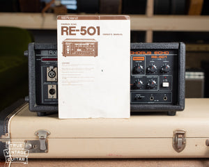 Vintage Roland RE-501 Chorus Echo Owner's Manual
