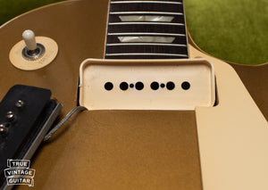 1950s Gibson P-90 pickup covers, creme
