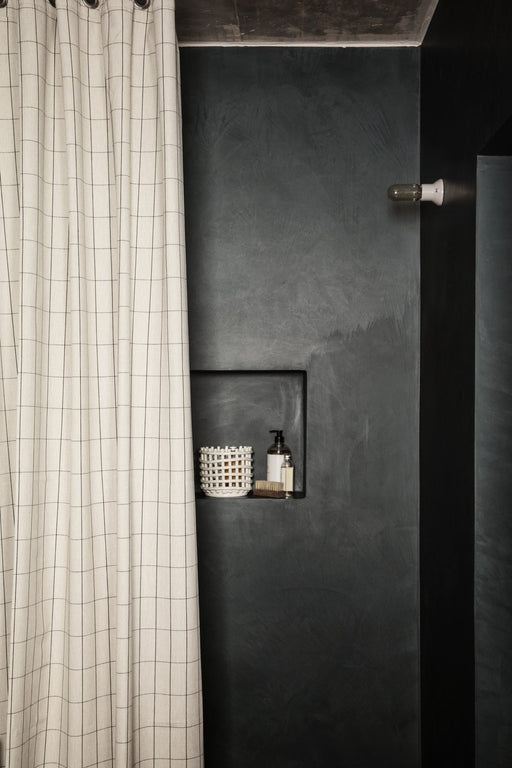 Ferm Living Chambray bruseforhæng - Grid - Sand