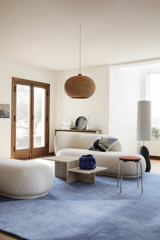 ferm Living Distinct sofabord - Travertine