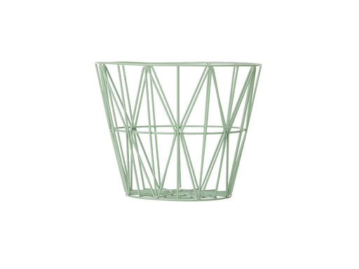 Ferm Living Wire Basket - Medium - Mint