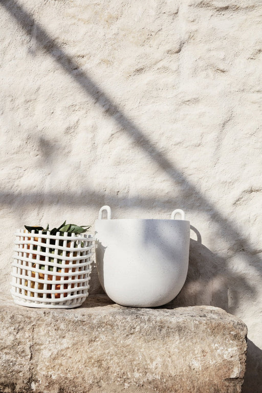 Ferm Living Keramikkurv - Large - Off-White
