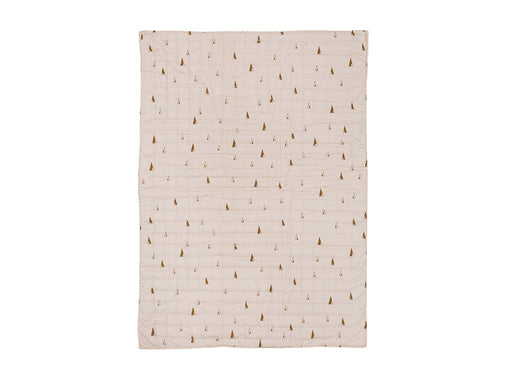 Ferm Living Cone Quilted sengetæppe - Rose